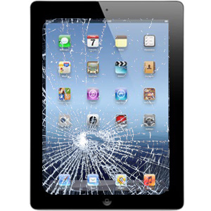 2iPad Cracked Screen